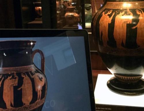 La colección 3D de vasos griegos del MAN
