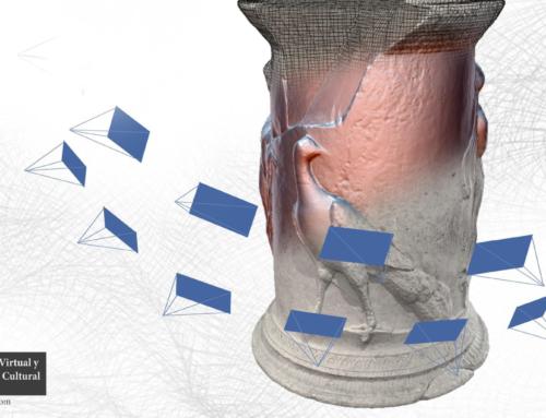 """Curso online: """"Introducción a la fotogrametría digital para la documentación 3D en patrimonio"""""""