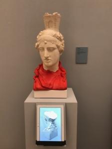 pieza restaurada impresión 3D exposicion Carlos III madrid