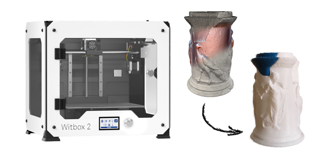 impresión 3d patrimonio restauración virtual nestor marques