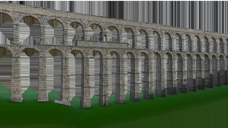acueducto de segovia 3D Nestor F Marques