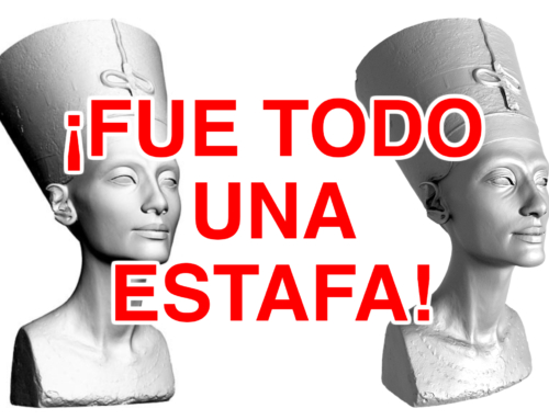 Nefertiti y el engaño virtual