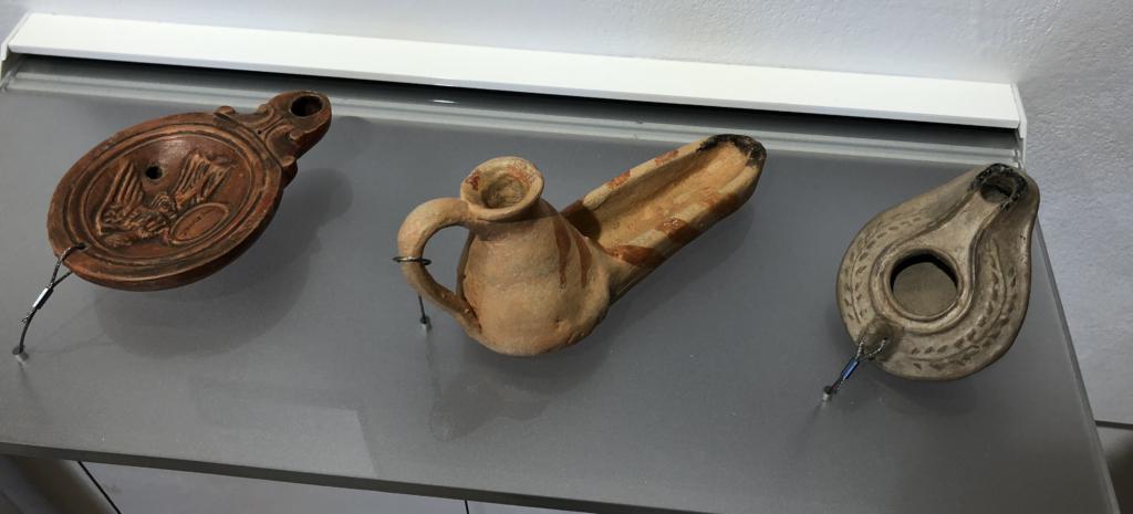 Replicas de lucernas impresion 3D Museu Manacor