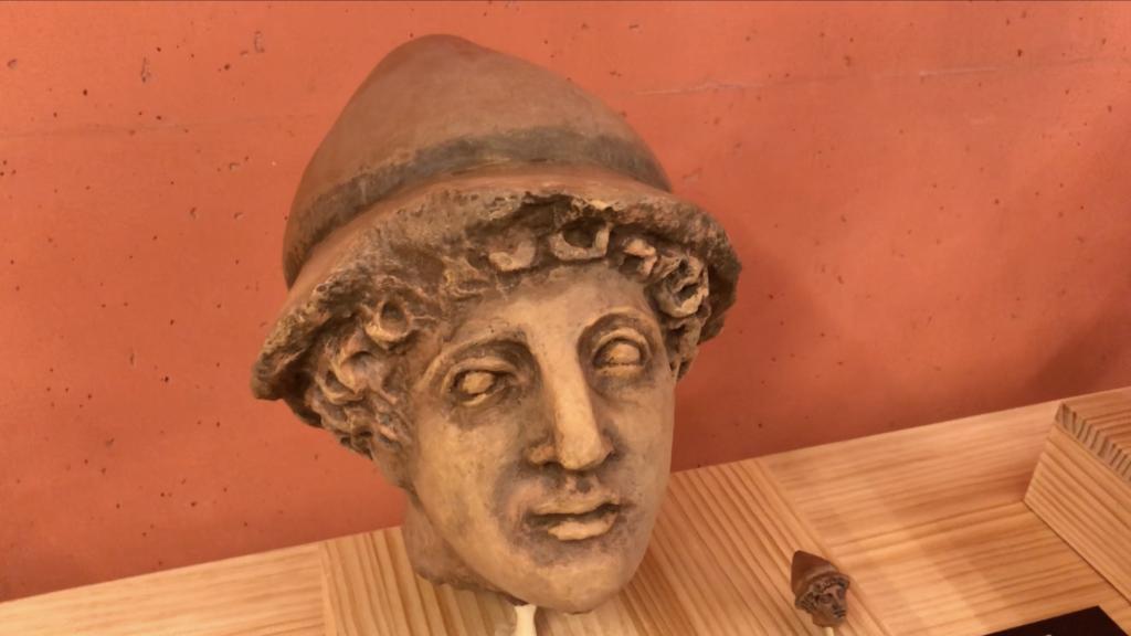 replica cabeza terracota vilamuseu impresion 3D