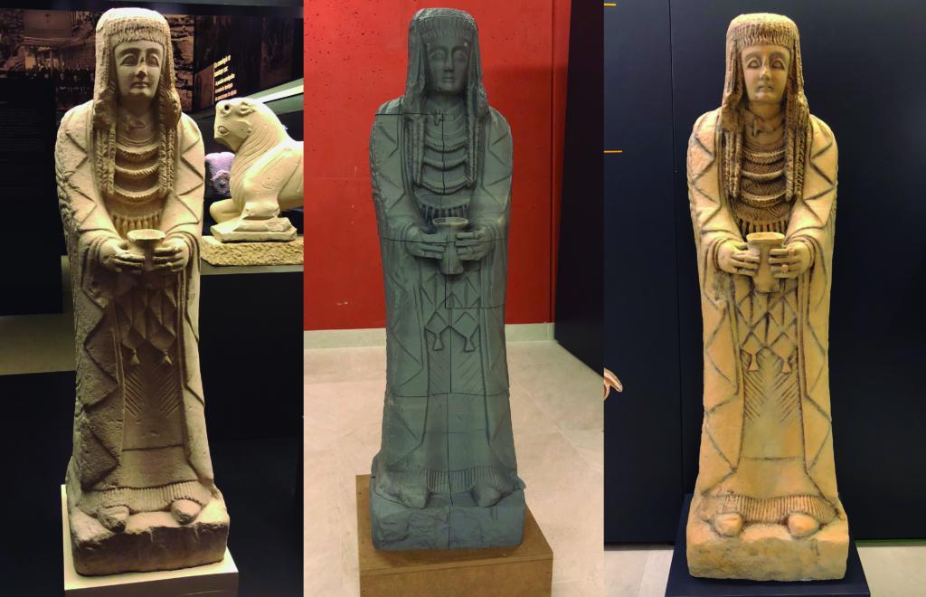 procesos de la dama del cerro de los santos