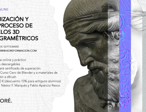 Curso de optimización y postproceso de modelos 3D fotogramétricos (1ª ED)