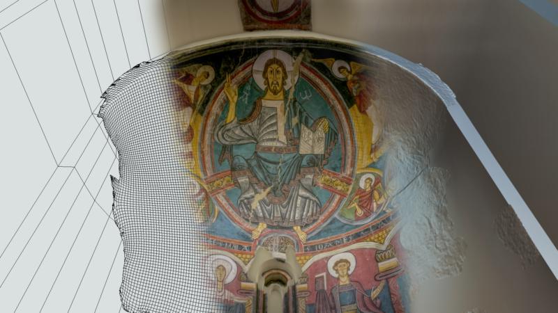 pinturas abside Sant Climent de Taull MNAC