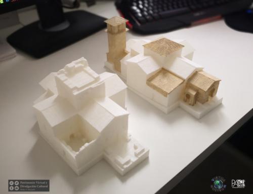 Impresión 3D de la iglesia de Santa María de Melque