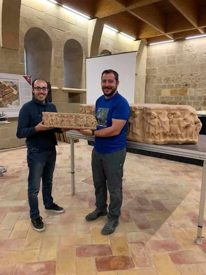 capitel fitero replica impresion 3D patrimonio