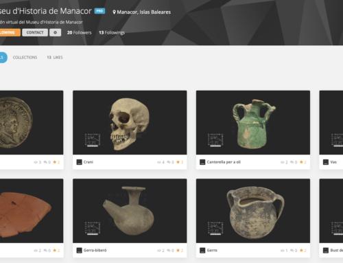 Las nuevas piezas virtuales del Museu de Manacor